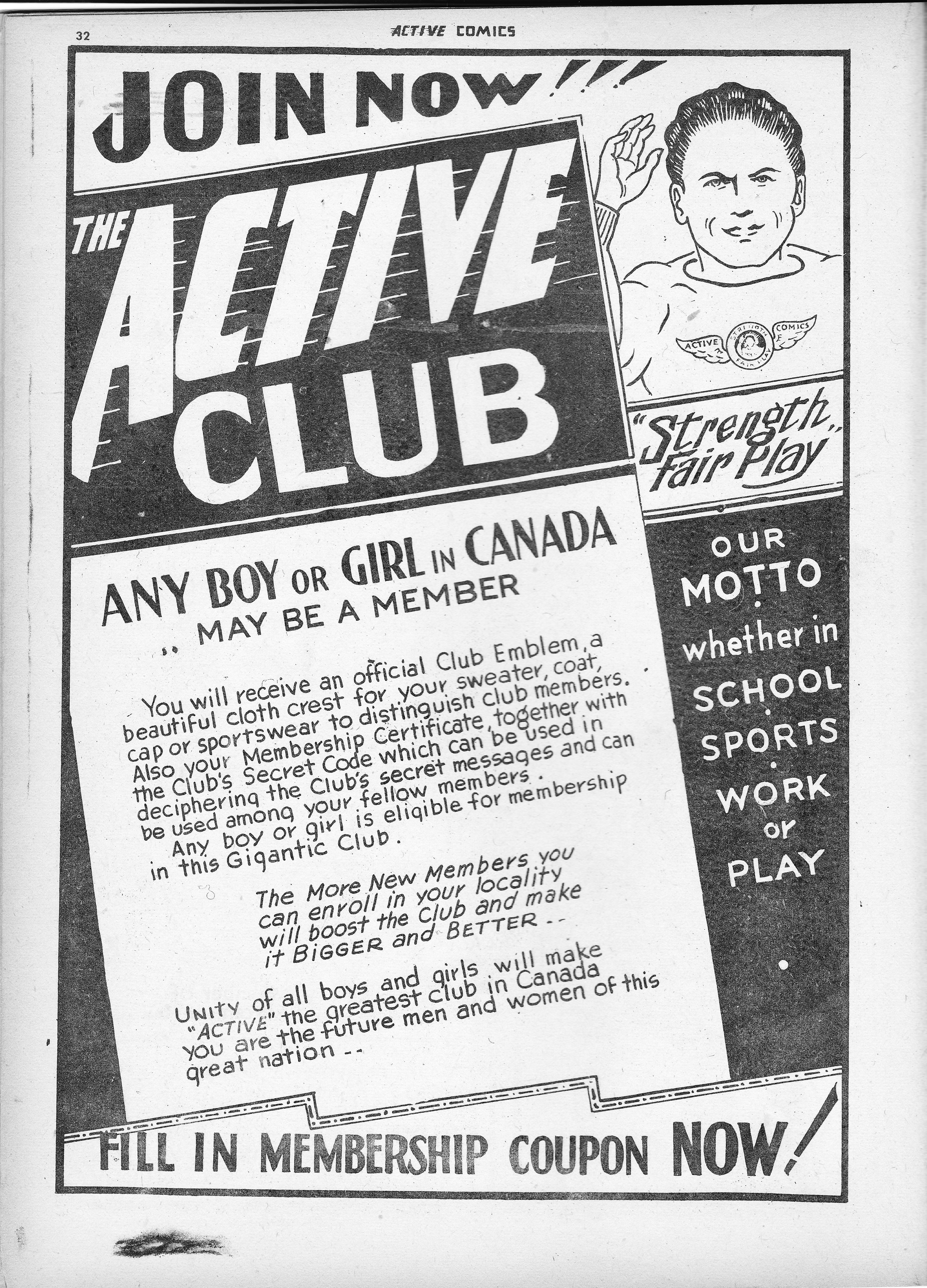 ACTIVE CLUB, Active Comics 2, Mar