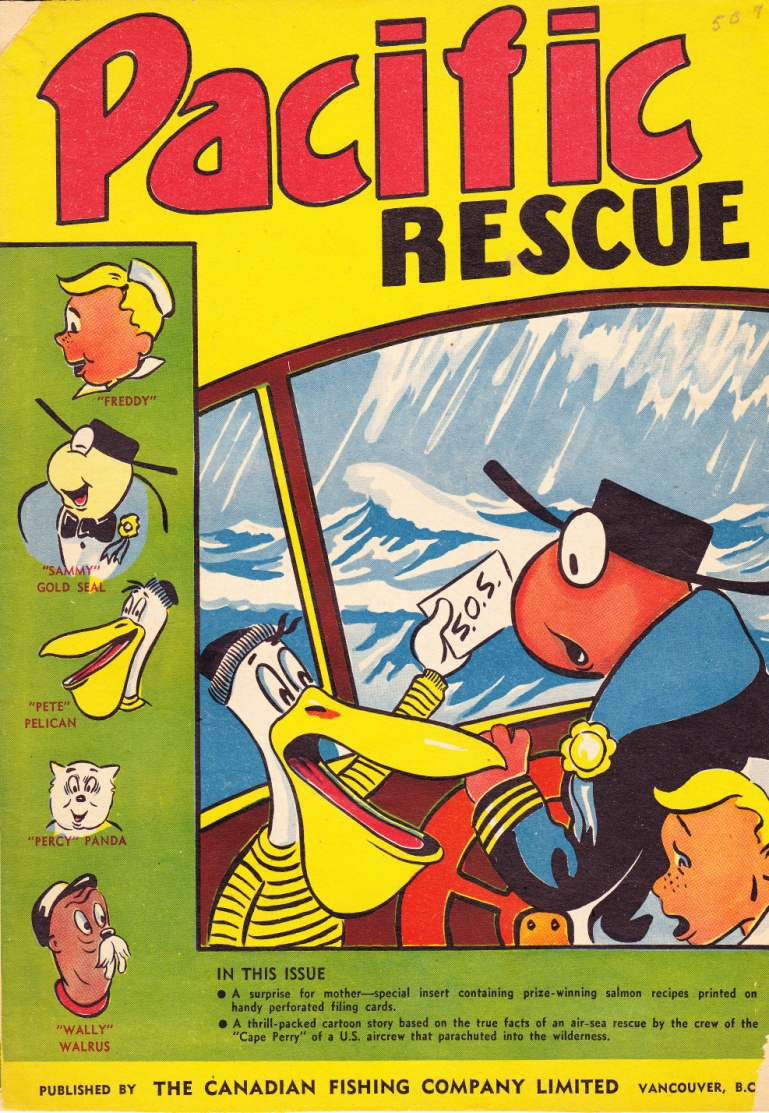 C:\Users\Robert\Documents\CARTOONING ILLUSTRATION ANIMATION\IMAGE COMIC BOOK COVERS\Canadian Fishing Co. Pacific Rescue.jpg