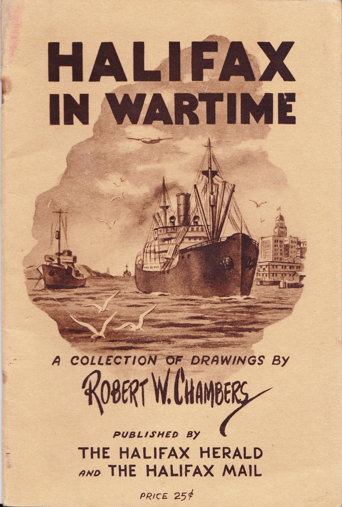 C:\Users\Robert\Documents\CARTOONING ILLUSTRATION ANIMATION\IMAGE BY CARTOONIST\C\CHAMBERS Robert, Halifax In Wartime.jpg