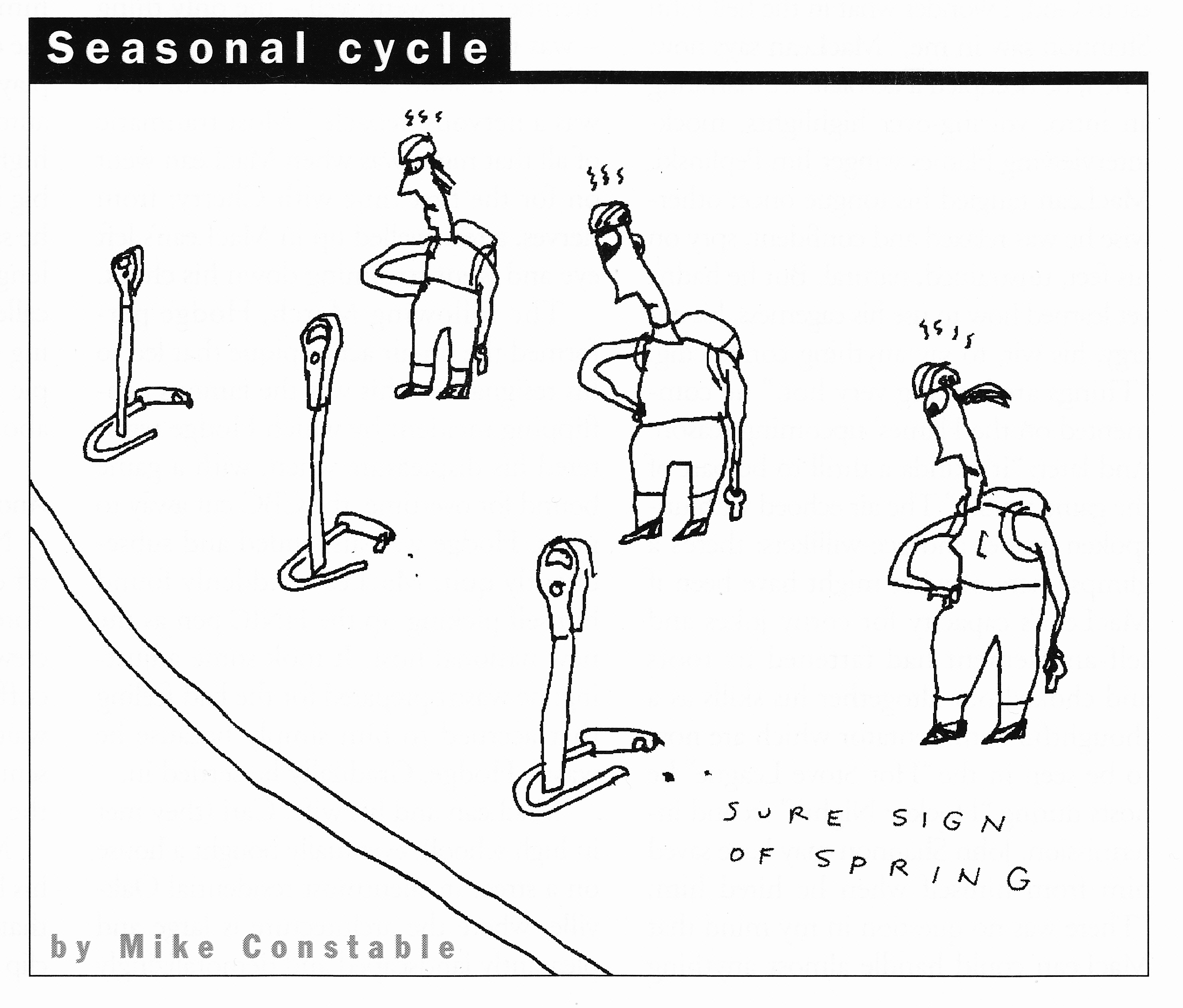 C:\Users\Robert\Documents\CARTOONING ILLUSTRATION ANIMATION\IMAGE BY CARTOONIST\C\CONSTABLE MIKE, Saturday Night, April 1996, 100.jpg