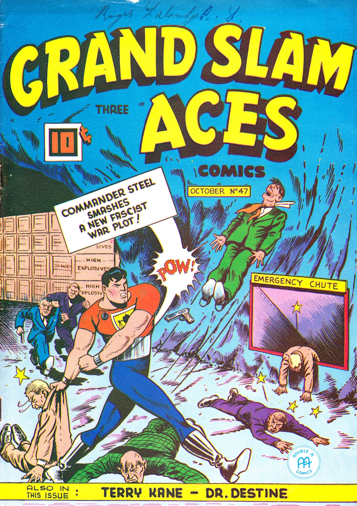 C:\Users\Robert\Documents\CARTOONING ILLUSTRATION ANIMATION\IMAGE CARTOON\IMAGE CARTOON C\COMMANDER STEEL Grand Slam 3 Aces IV-47 Oct 1945 fc.jpg