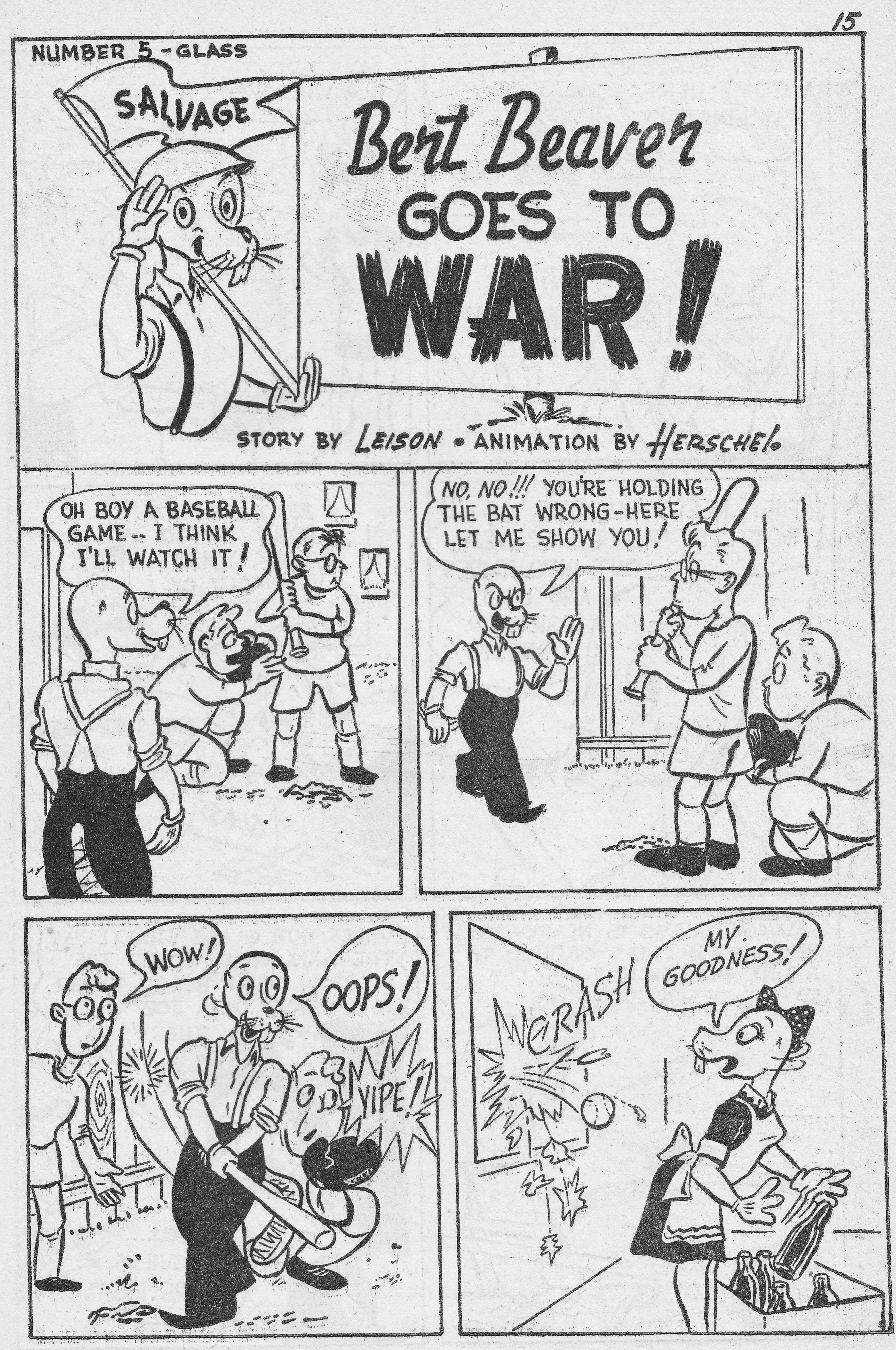 C:\Users\Robert\Documents\CARTOONING ILLUSTRATION ANIMATION\IMAGE CARTOON\IMAGE CARTOON B\BERT BEAVER, Canadian Heroes, 3-4, Mar 19434,15.jpg