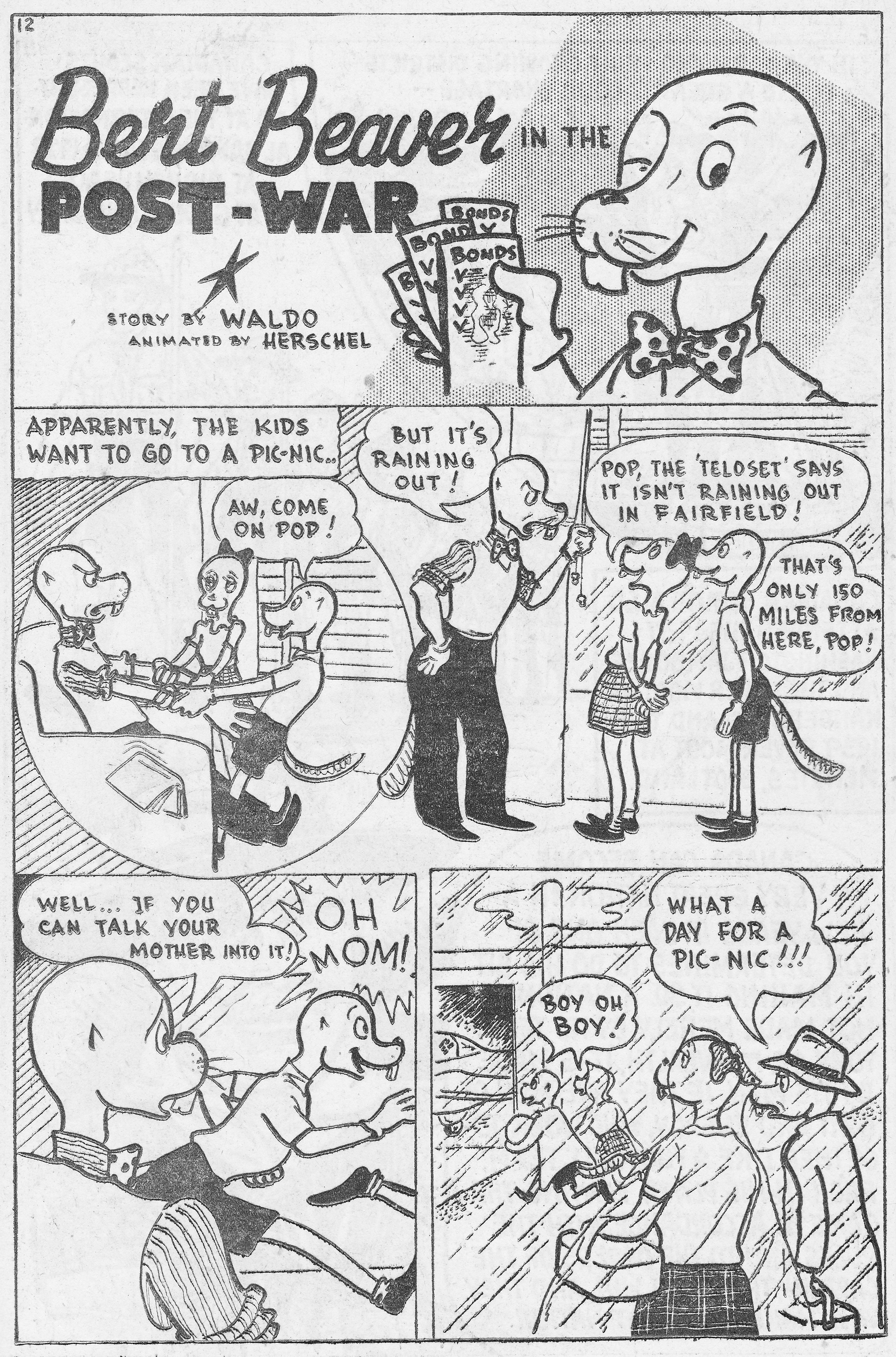 C:\Users\Robert\Documents\CARTOONING ILLUSTRATION ANIMATION\IMAGE CARTOON\IMAGE CARTOON B\BERT BEAVER, Canadian Heroes, 5-1, Feb 1945, 12.jpg
