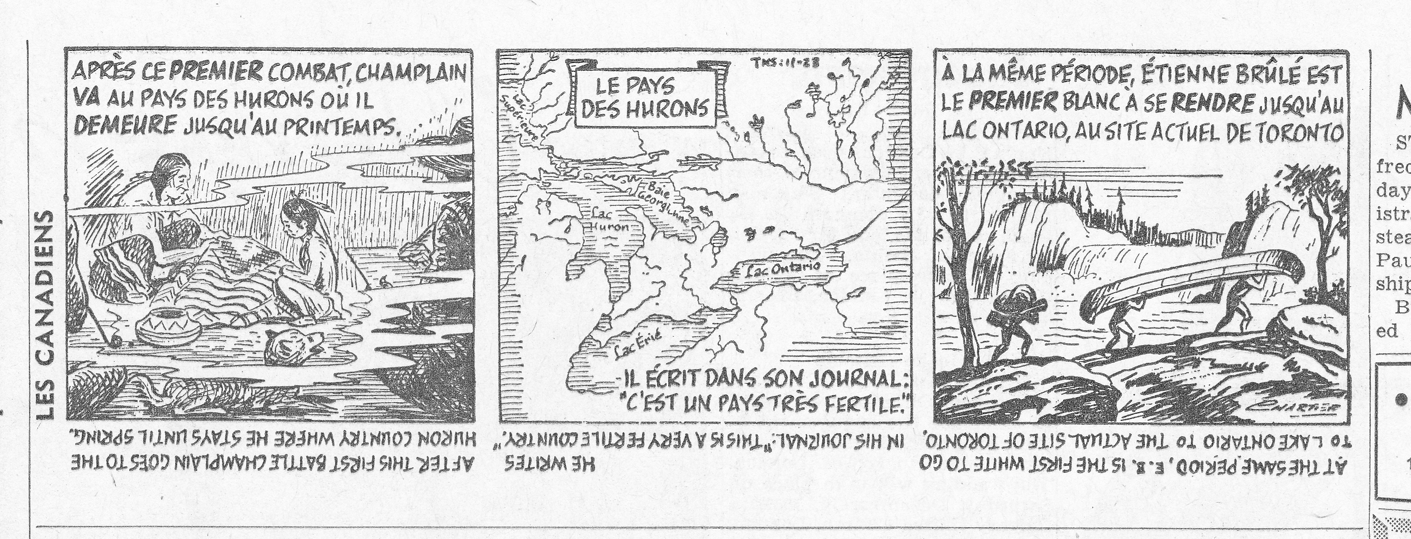 LES CANADIENS, London Free Press ,23 Nov