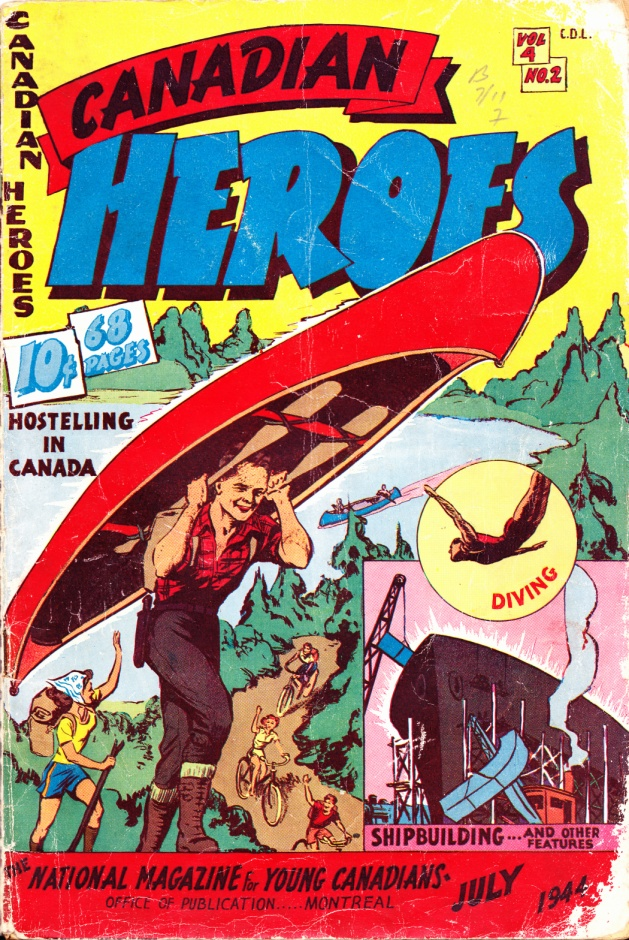 C:\Users\Robert\Documents\CARTOONING ILLUSTRATION ANIMATION\IMAGE COMIC BOOK COVERS\CANADIAN HEROES, 4-2, July 1944, fc.jpg
