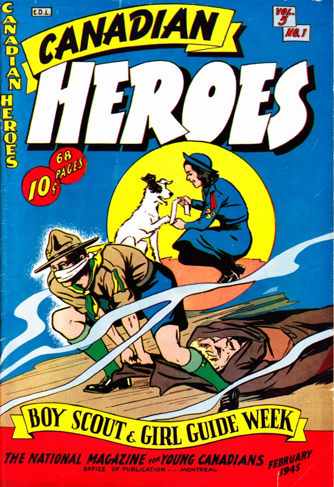 C:\Users\Robert\Documents\CARTOONING ILLUSTRATION ANIMATION\IMAGE COMIC BOOK COVERS\CANADIAN HEROES, 5-1, Feb 1954, fc_0001.jpg