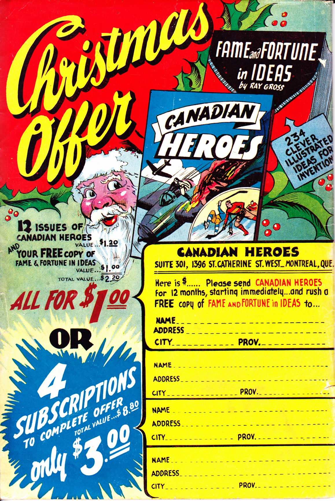 C:\Users\Robert\Documents\CARTOONING ILLUSTRATION ANIMATION\IMAGE COMIC BOOK COVERS\Advertising, Canadian Heroes, 3-1- Nov,Dec, 1943, bc .jpg