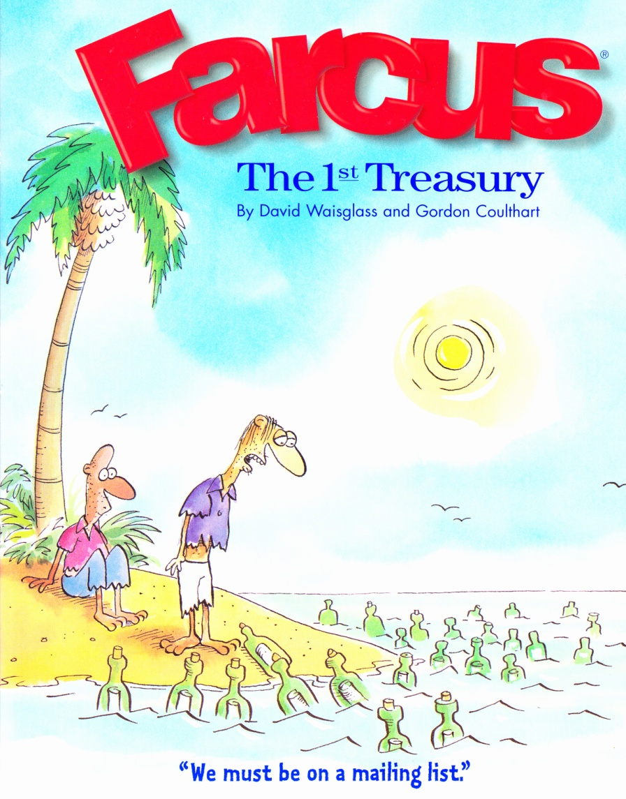 C:\Users\Robert\Documents\CARTOONING ILLUSTRATION ANIMATION\IMAGE CARTOON\IMAGE CARTOON F\FARCUS, The 1st Treasury, 1995, fc.jpg