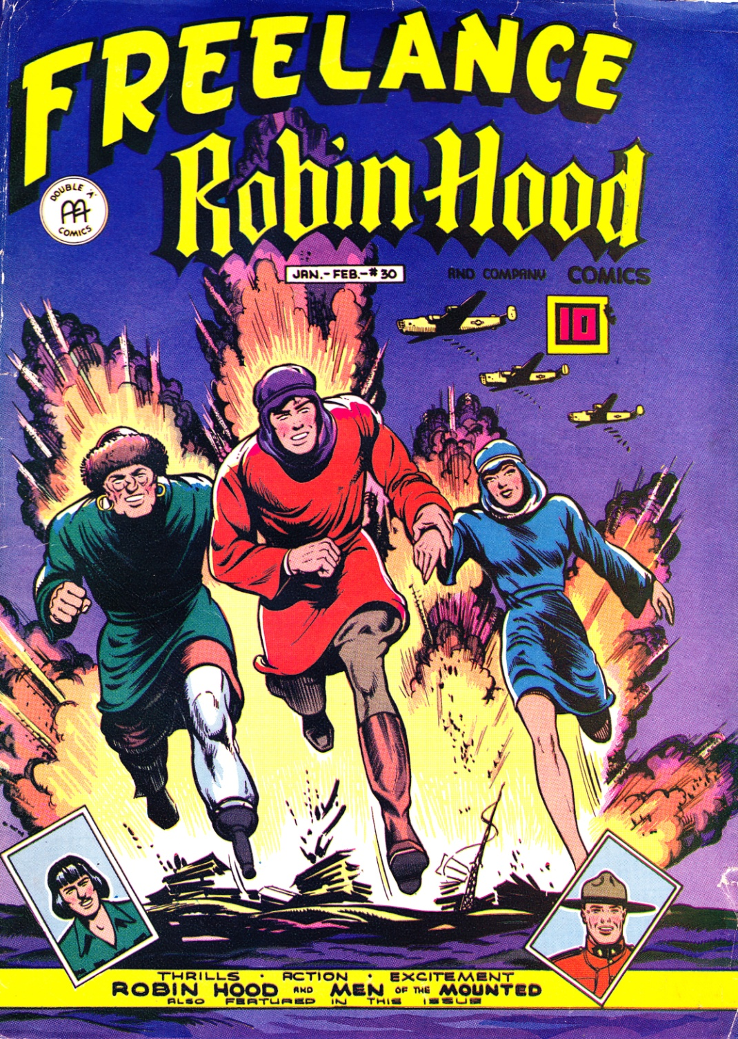 C:\Users\Robert\Documents\CARTOONING ILLUSTRATION ANIMATION\IMAGE CARTOON\IMAGE CARTOON F\FREELANCE Freelance Robin Hood, 3-30 Jan-Feb 1946 fc.jpg