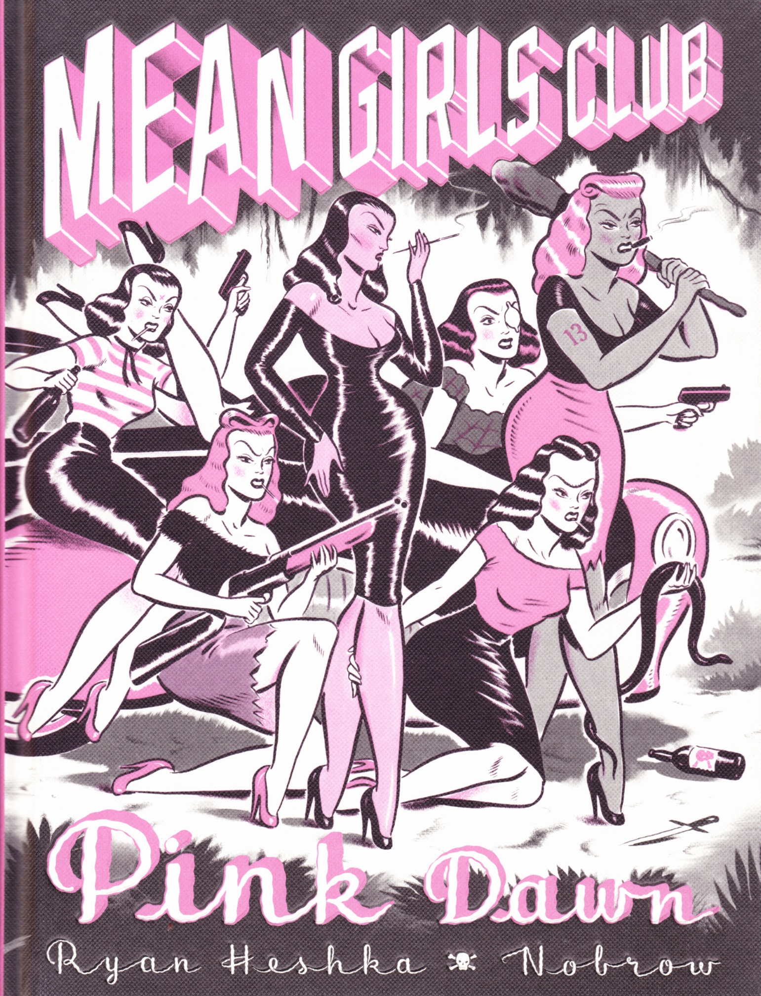 C:\Users\Robert\Documents\CARTOONING ILLUSTRATION ANIMATION\IMAGE BY CARTOONIST\H\HESHKA Ryan, Mean Girls Club, Pink Dawn 2018, fc.jpg