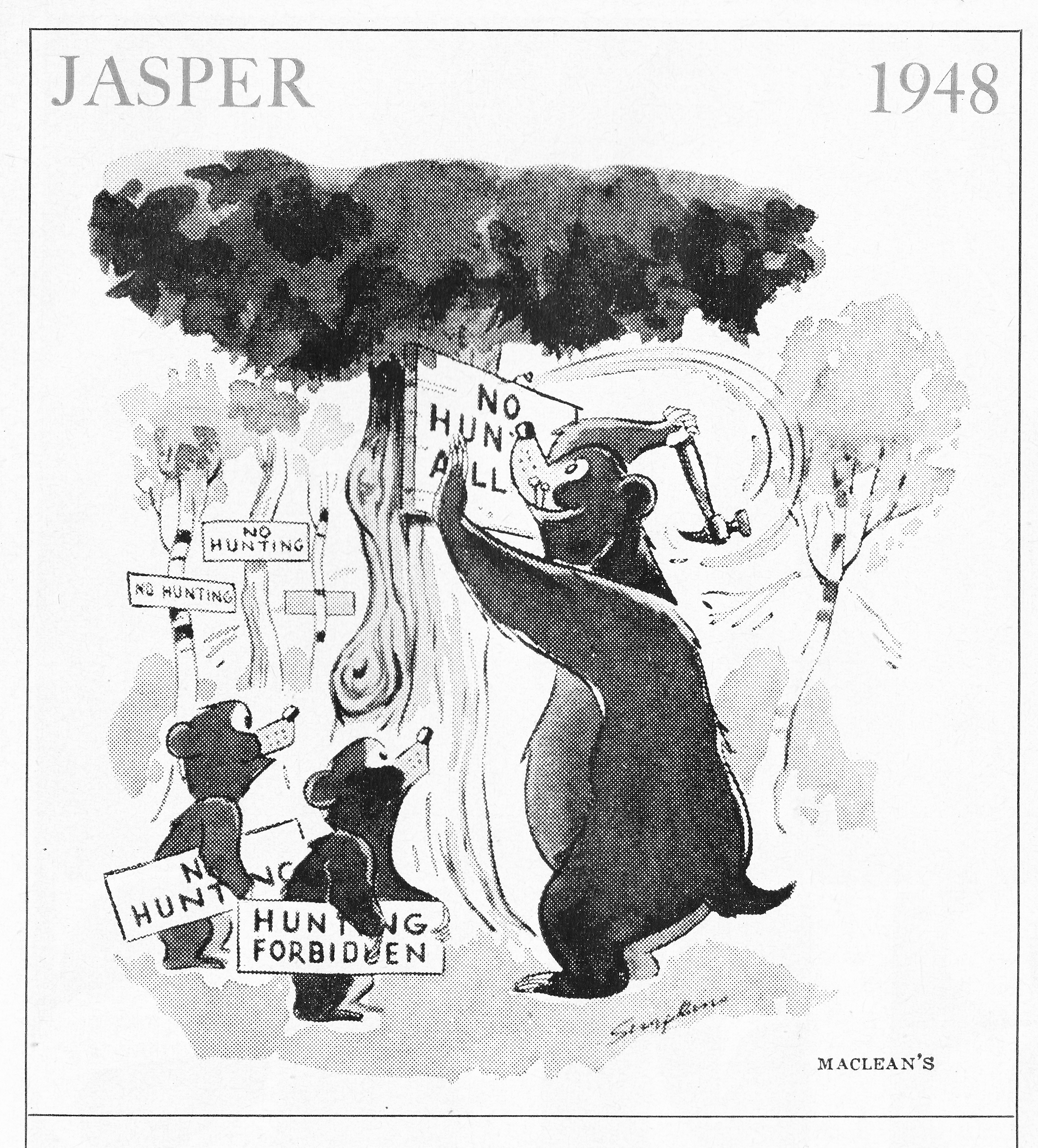 C:\Users\Robert\Documents\CANADIAN CARTOONING ILLUSTRATION and ANIMATION\IMAGE CARTOON J\JASPER THE BEAR, Maclean's 6 July 1963, 51.jpg