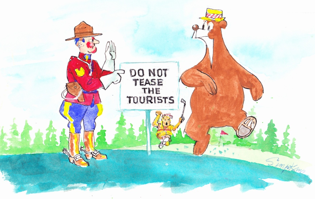 C:\Users\Robert\Documents\CANADIAN CARTOONING ILLUSTRATION and ANIMATION\IMAGE CARTOON J\JASPER THE BEAR, an original, pen & ink, water colour .jpg