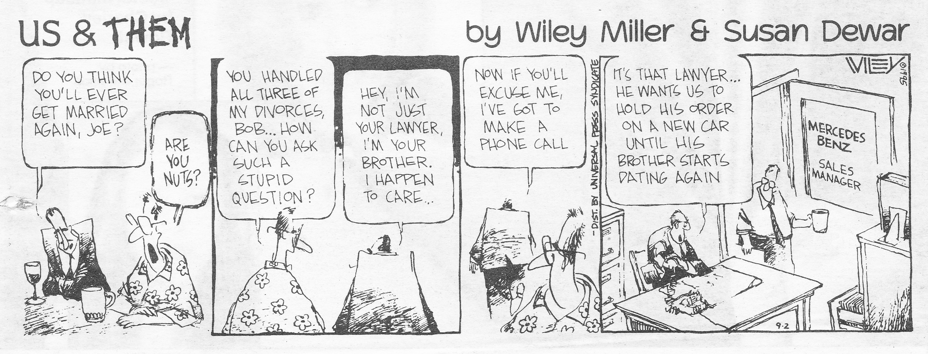 C:\Users\Robert\Documents\CARTOONING ILLUSTRATION ANIMATION\IMAGE CARTOON\IMAGE CARTOON U\US & THEM,             Miller Wiley Toronto Sun, 2 Sept 1995.jpg