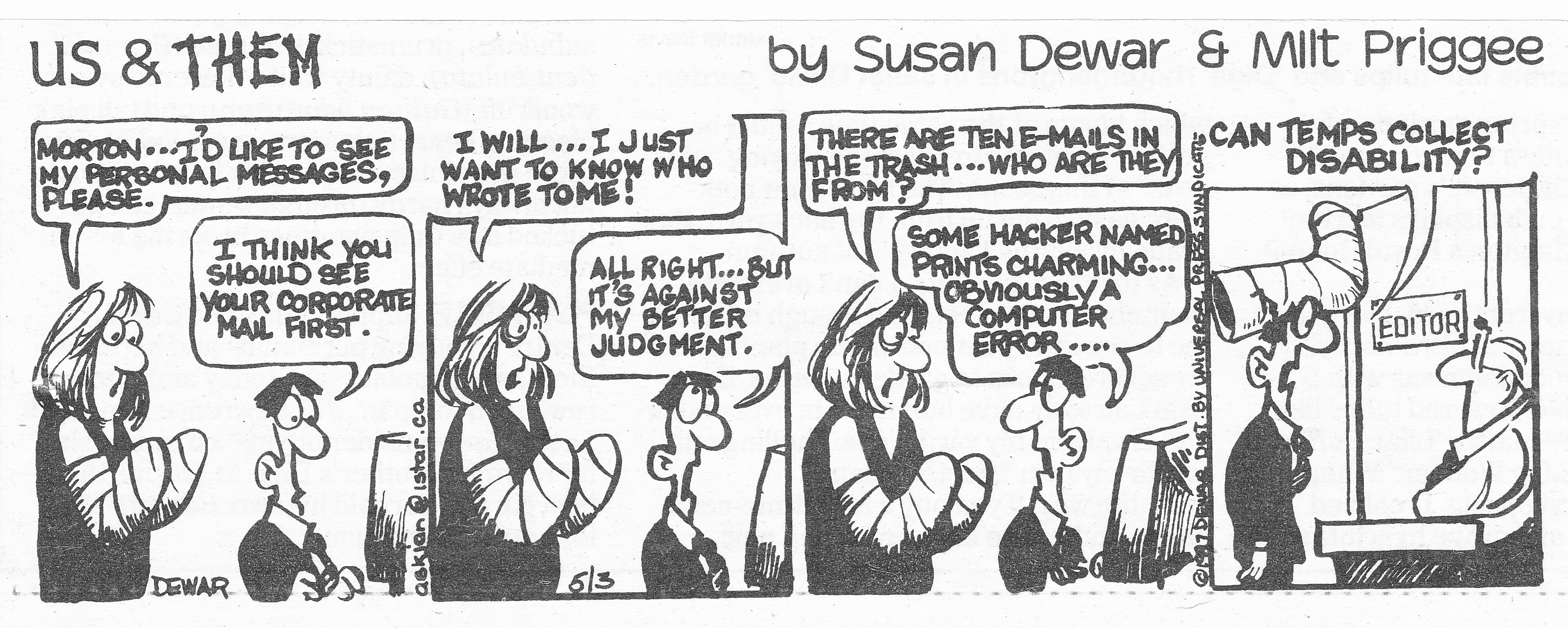 C:\Users\Robert\Documents\CARTOONING ILLUSTRATION ANIMATION\IMAGE CARTOON\IMAGE CARTOON U\US & THEM, Dewar Susan Toronto Sun  5 April 1997.jpg