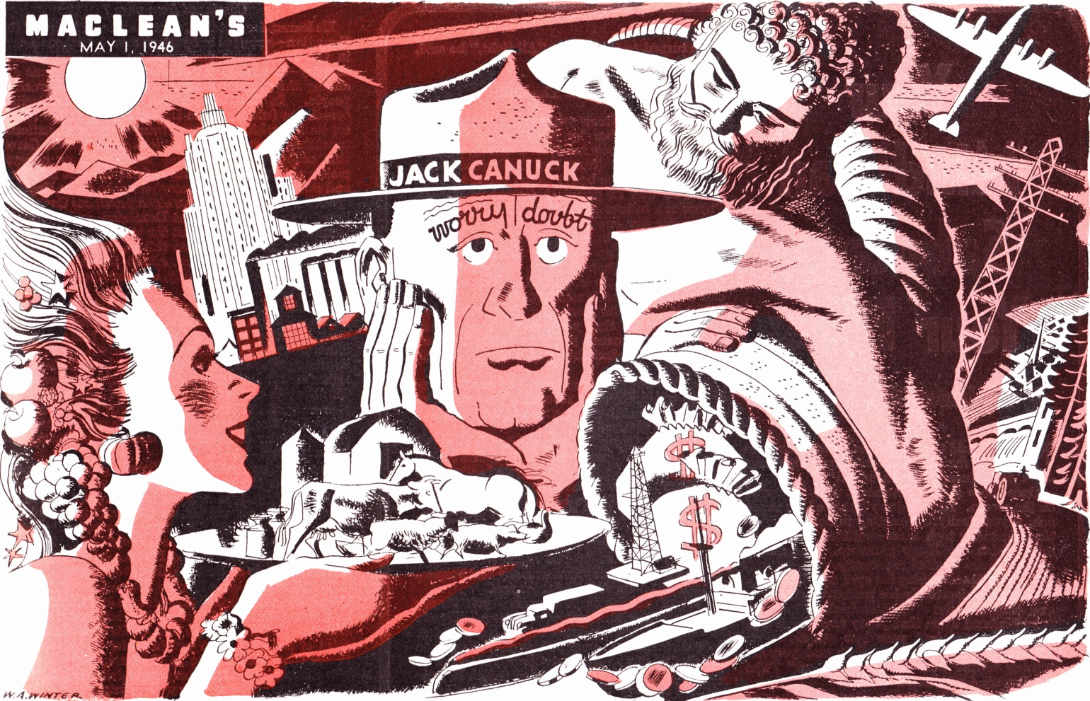 C:\Users\Robert\Documents\CARTOONING ILLUSTRATION ANIMATION\IMAGE CARTOON\IMAGE CARTOON J\JACK CANUCK  Maclean's, 1 May 1946, 7.jpg