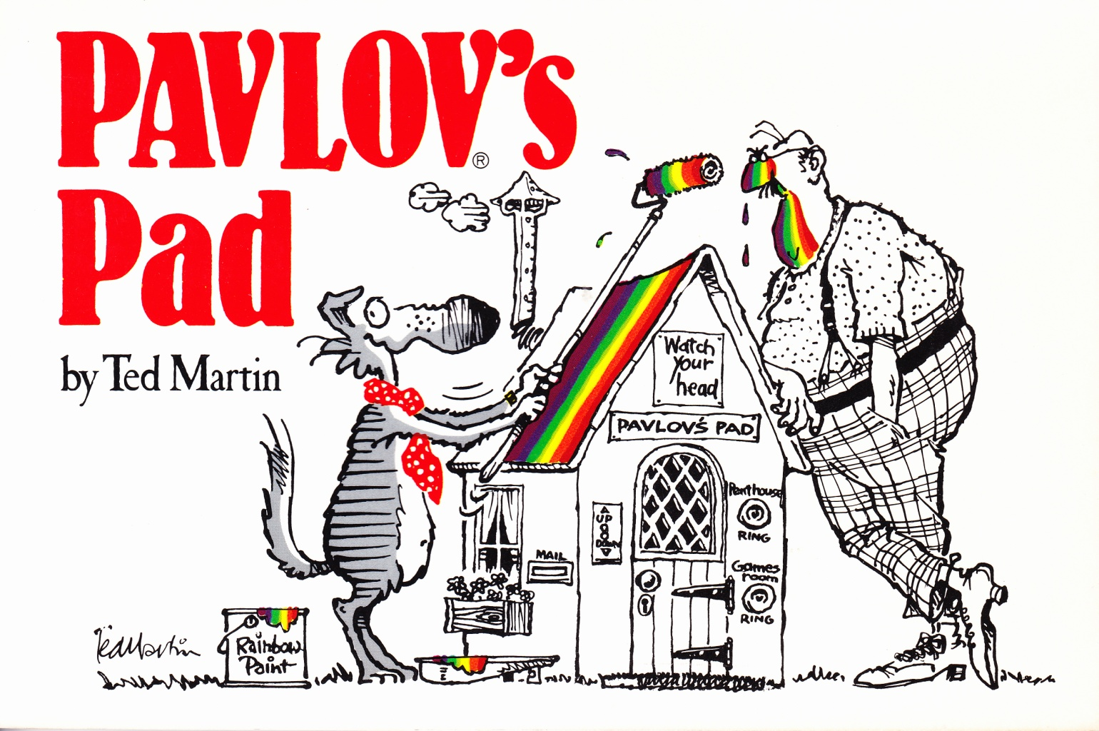 C:\Users\Robert\Documents\CANADIAN CARTOONING ILLUSTRATION and ANIMATION\IMAGE CARTOON P\PAVLOV Pavlov's Pad, 1982..jpg