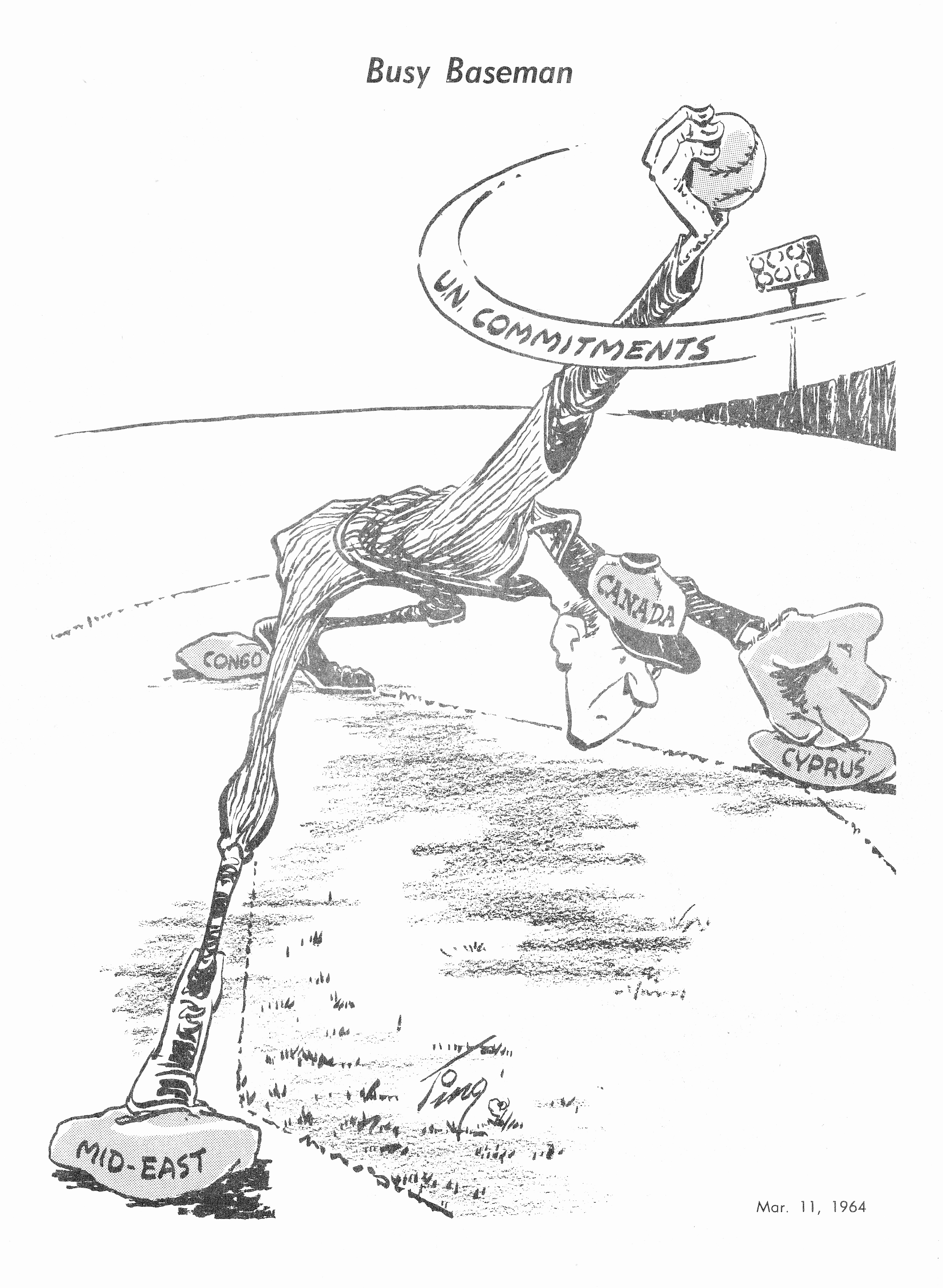 C:\Users\Robert\Documents\CANADIAN CARTOONING ILLUSTRATION and ANIMATION\IMAGE BY CARTOONIST OR ILLUS. T\TINGLEY MERLE London Free Press 11 May 1964.jpg