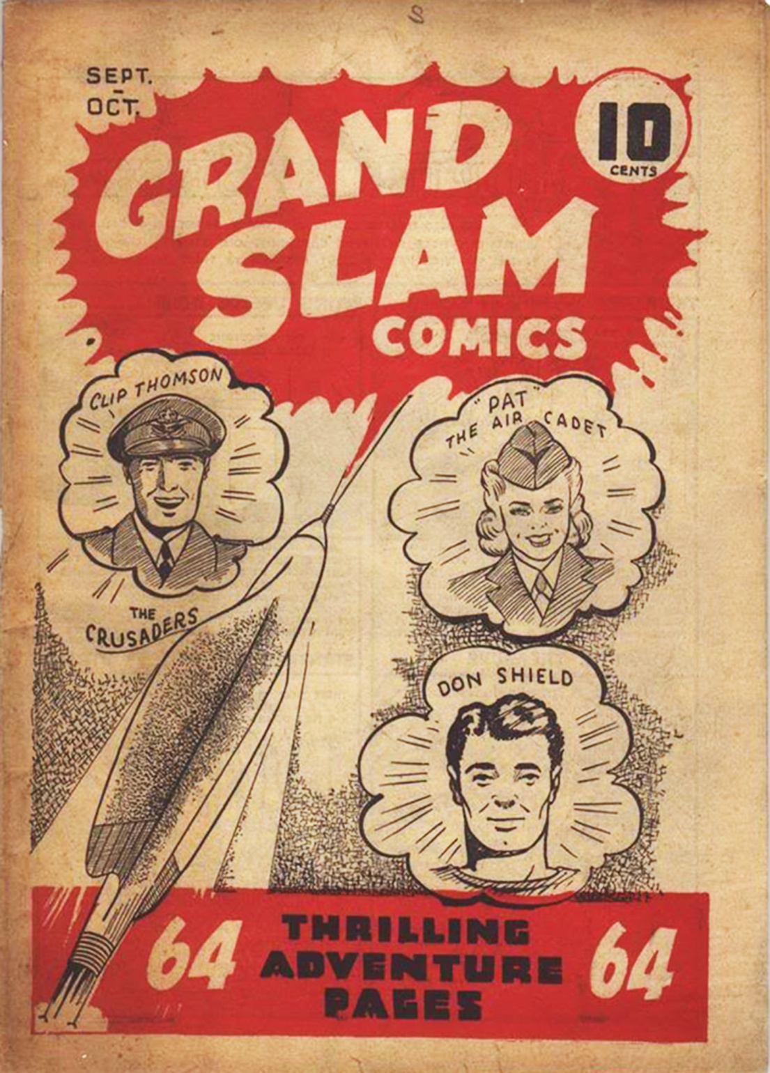 C:\Users\Robert\Documents\CANADIAN CARTOONING ILLUSTRATION and ANIMATION\IMAGE COMIC BOOK COVERS\GRAND SLAM COMICS 1-1 Sept-Oct 1941.jpg