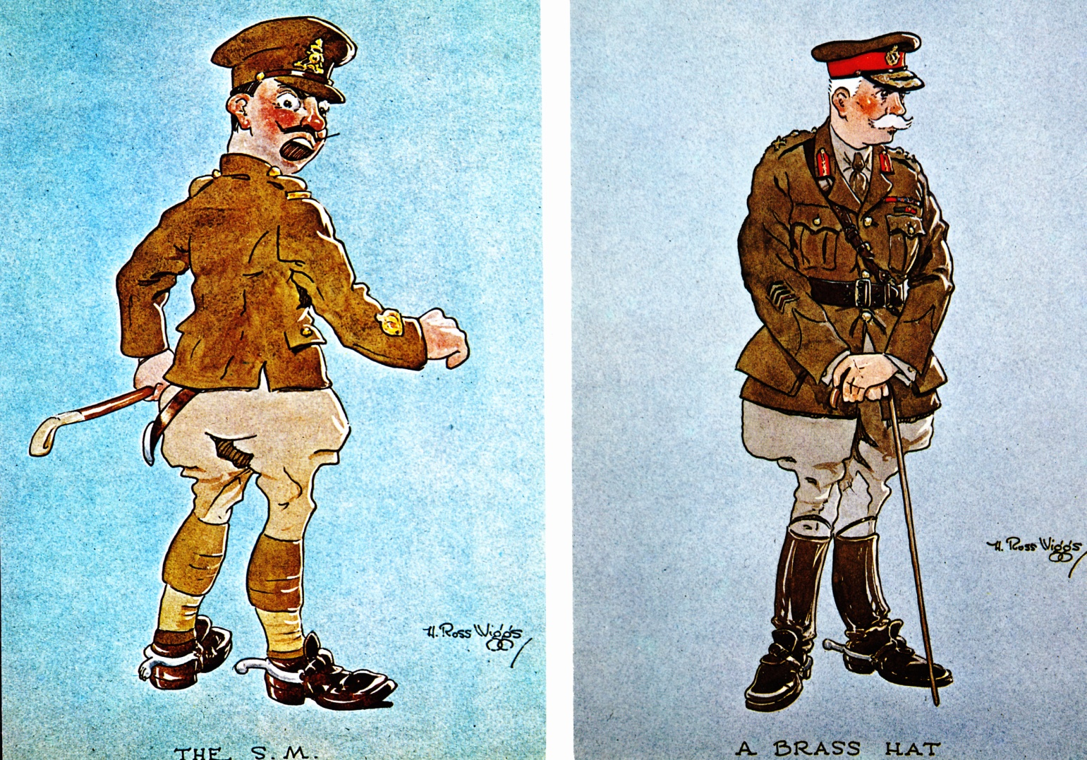 C:\Users\Robert\Documents\CARTOONING ILLUSTRATION ANIMATION\IMAGE BY CARTOONIST\W\WIGGS H. R.  Postcards Cdn War Museum 2 & 4.jpg