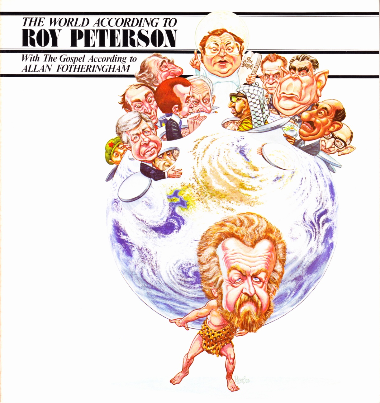 C:\Users\Robert\Documents\CARTOONING ILLUSTRATION ANIMATION\IMAGE BY CARTOONIST\P\PETERSON Roy The World According To ..., front cover.jpg
