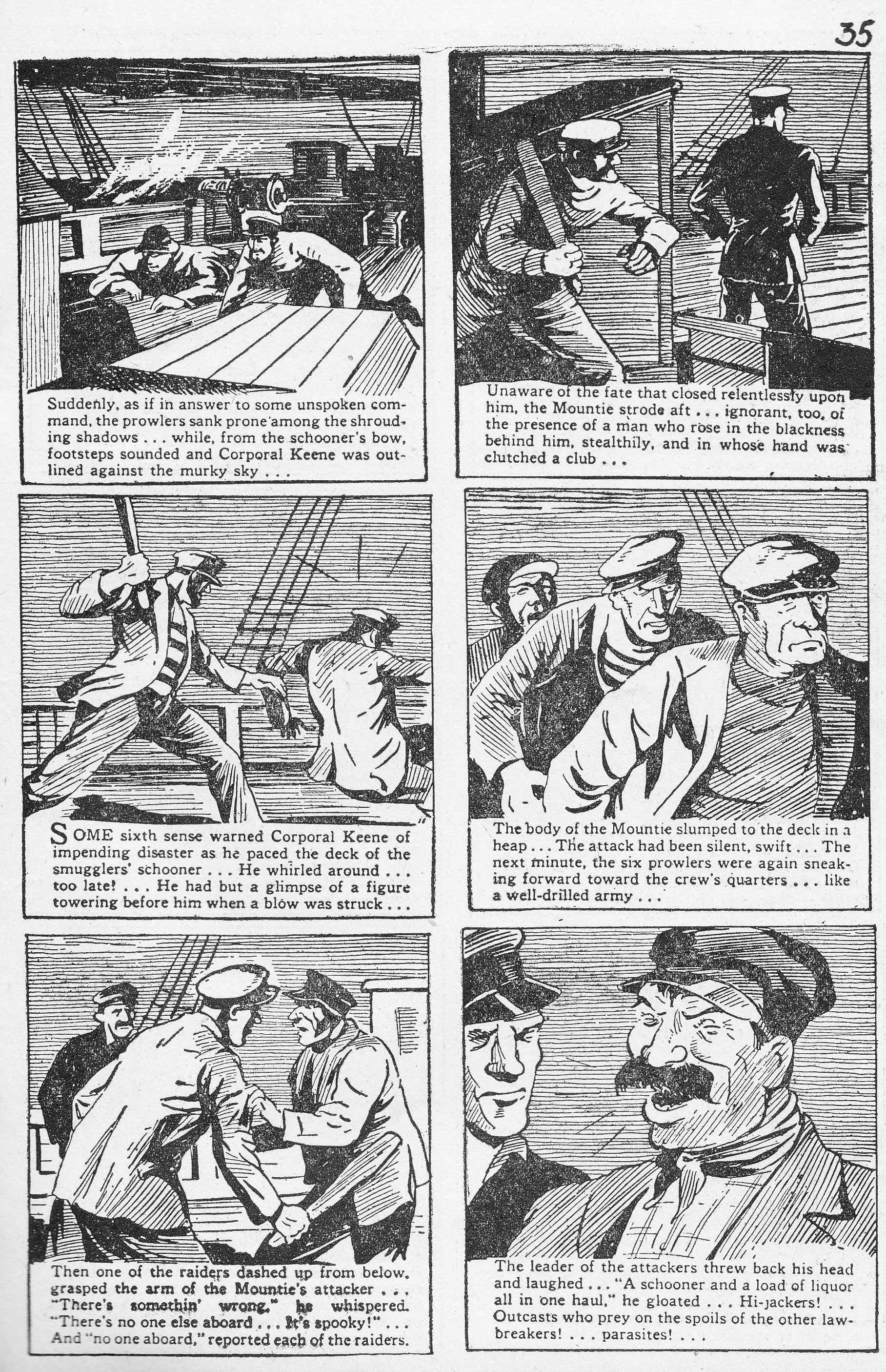C:\Users\Robert\Documents\CARTOONING ILLUSTRATION ANIMATION\IMAGE CARTOON\IMAGE CARTOON M\MEN OF THE MOUNTED, Robin Hood Comics, 2-2, May-June, 1943,.jpg