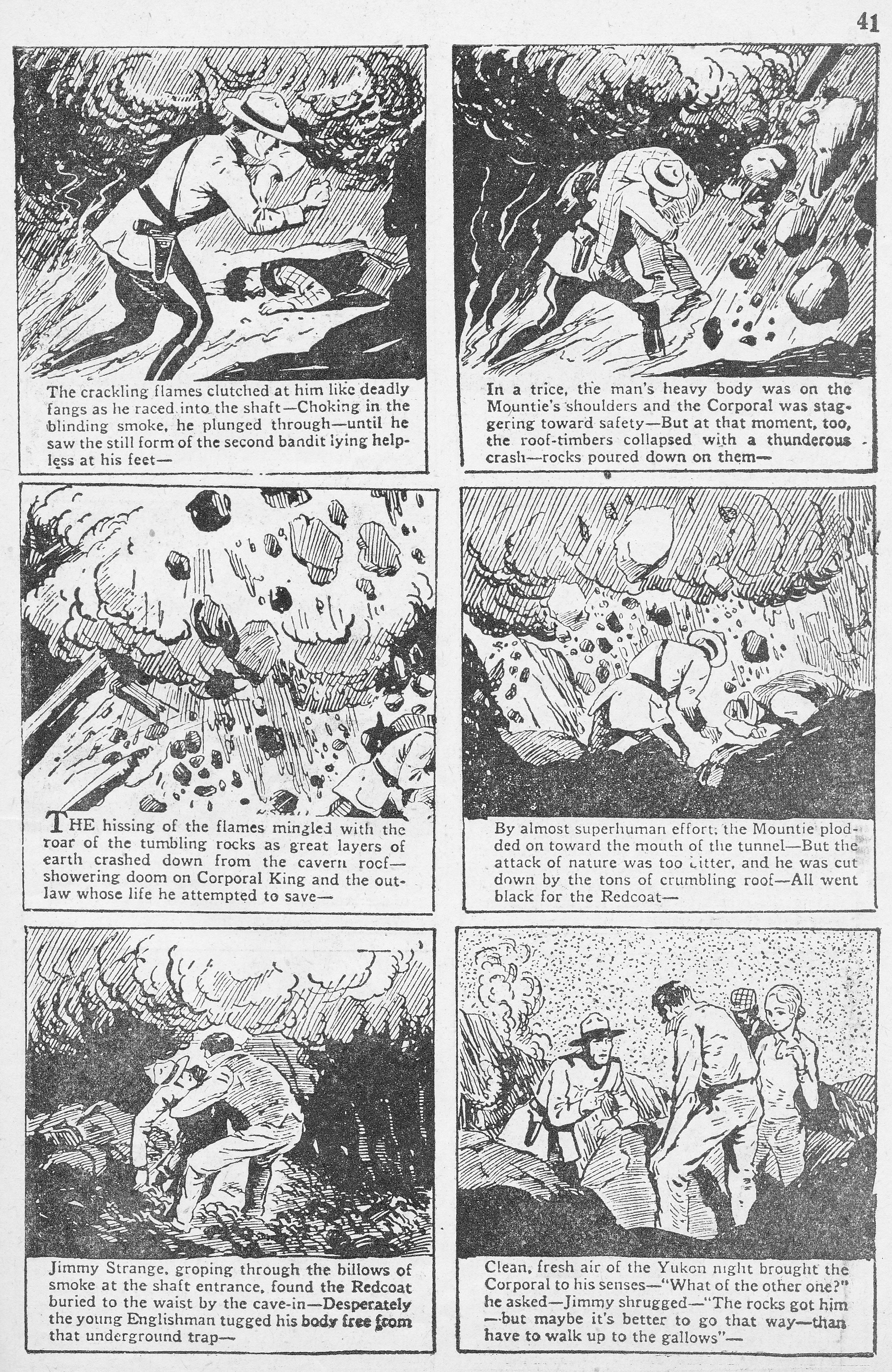 C:\Users\Robert\Documents\CARTOONING ILLUSTRATION ANIMATION\IMAGE CARTOON\IMAGE CARTOON M\MEN OF THE MOUNTED, Robin Hood, 2-2, May-June, 1943, 41.jpg