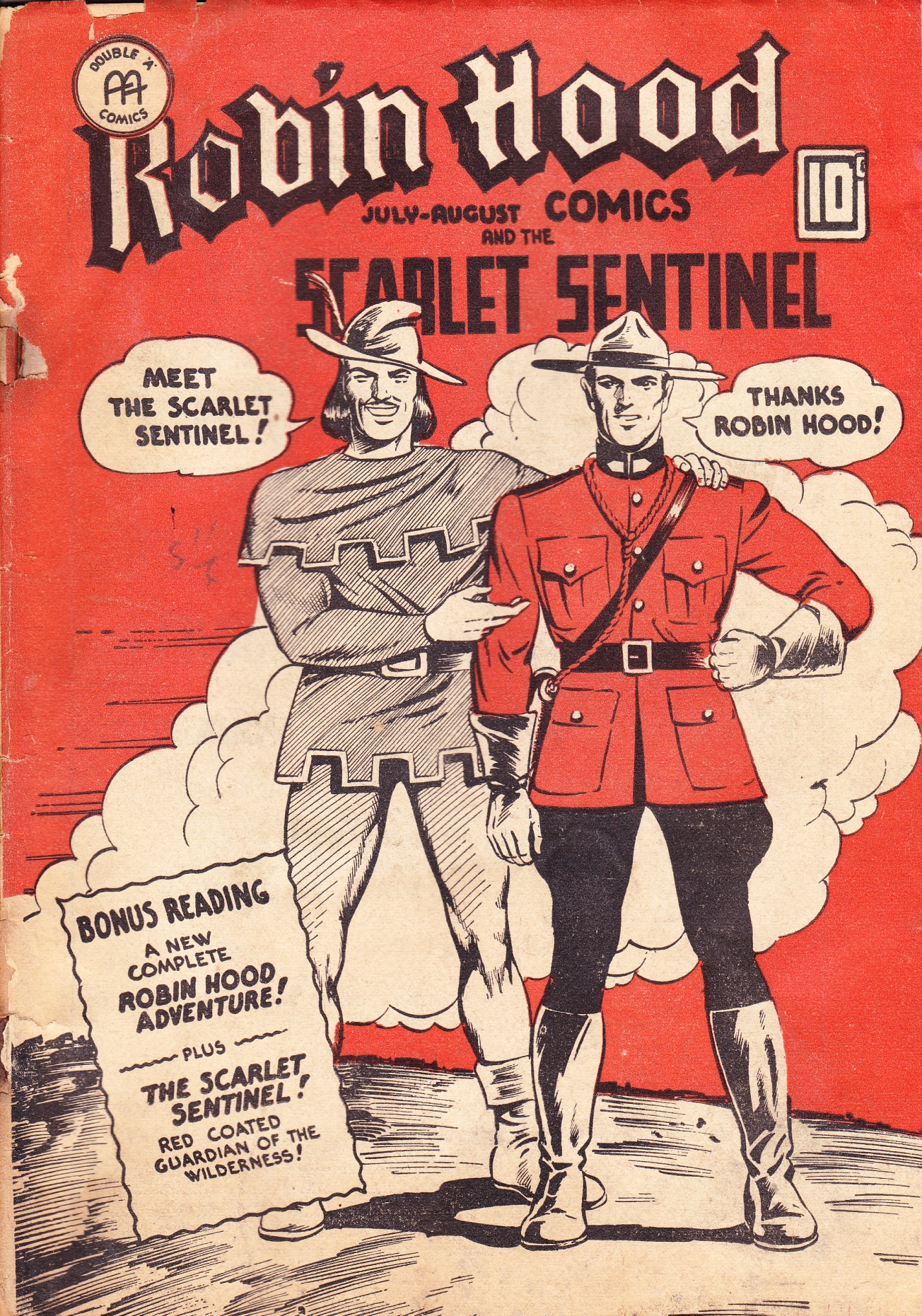 C:\Users\Robert\Documents\CARTOONING ILLUSTRATION ANIMATION\IMAGE COMIC BOOK COVERS\ROBIN HOOD COMICS 2-3 July august 1943 fc.jpg