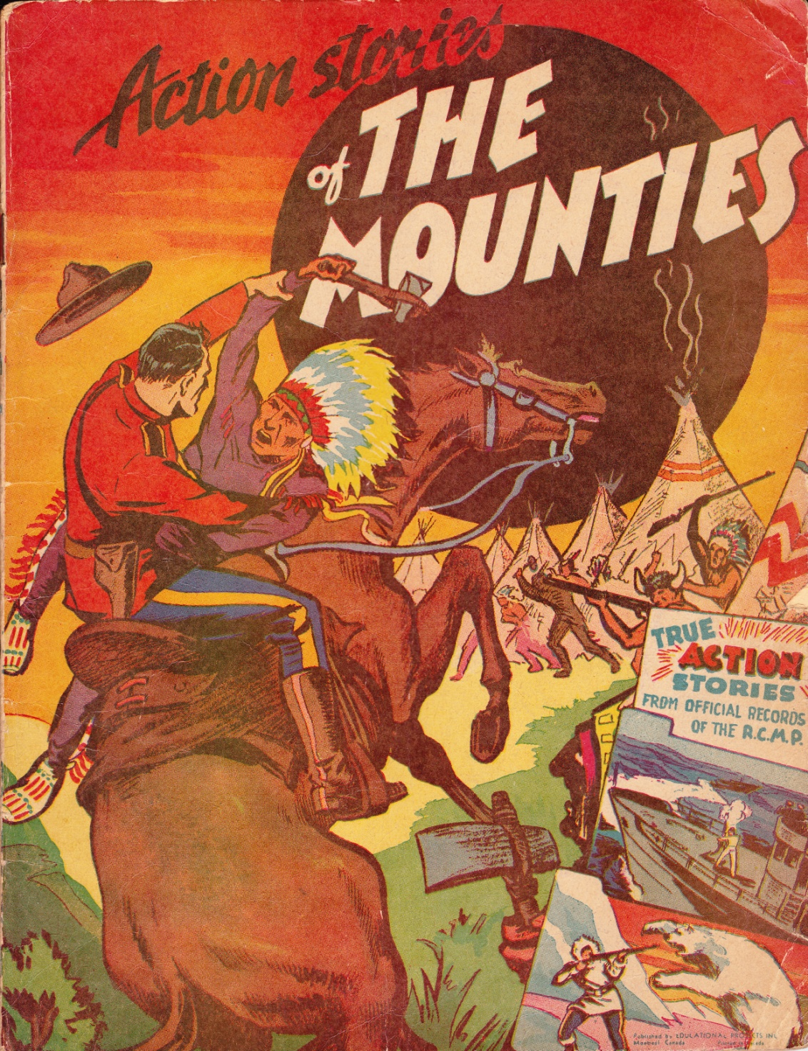 C:\Users\Robert\Documents\CARTOONING ILLUSTRATION ANIMATION\IMAGE BY CARTOONIST\R\RAE George m. Action Stories of the Mounties, f.c..jpg