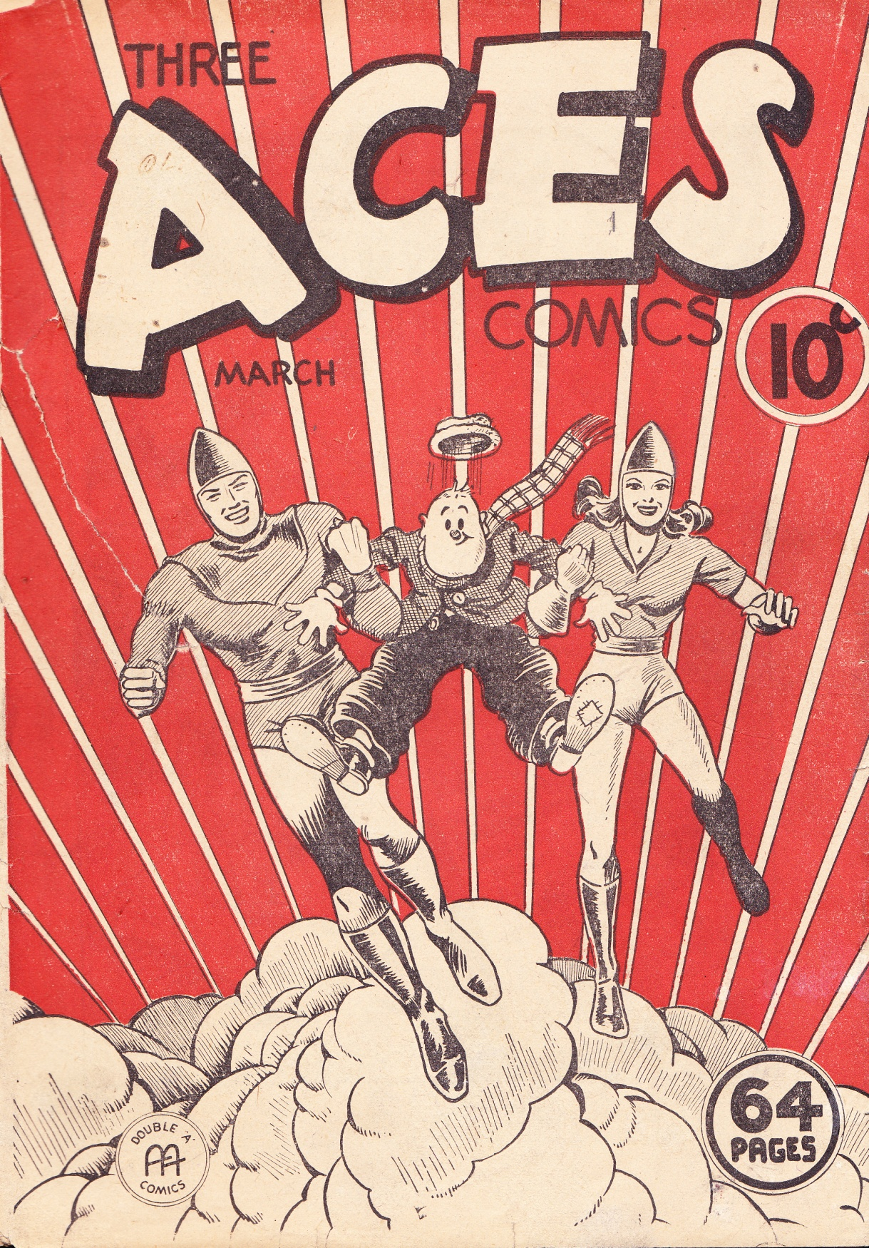 C:\Users\Robert\Documents\CARTOONING ILLUSTRATION ANIMATION\IMAGE CARTOON\IMAGE CARTOON S\SOOPER DOOPER, Three Aces Comics 2-2, March 1941, fc.jpg