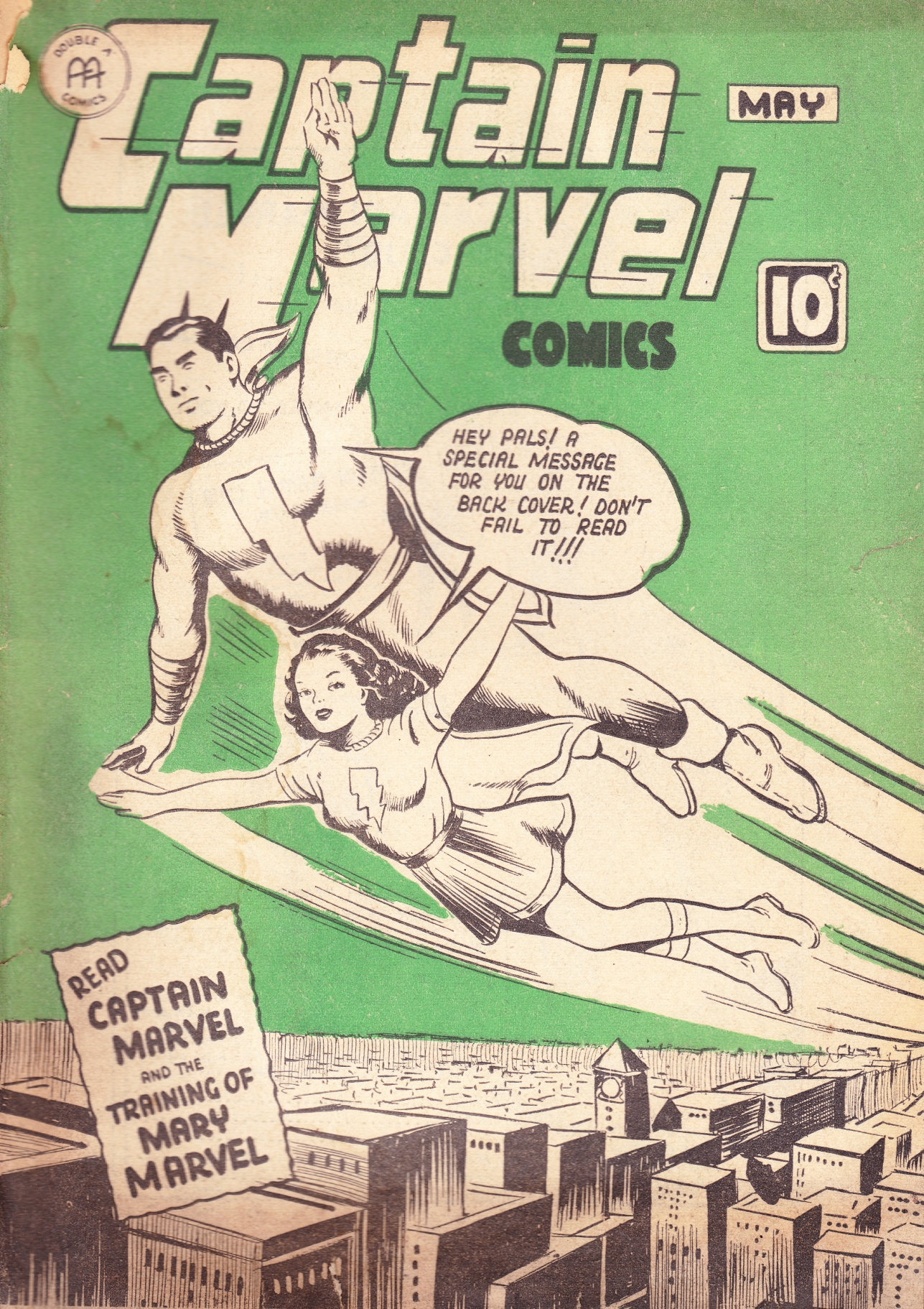 C:\Users\Robert\Documents\CARTOONING ILLUSTRATION ANIMATION\IMAGE COMIC BOOK COVERS\CAPTAIN MARVEL 2-5 May 1943,.jpg