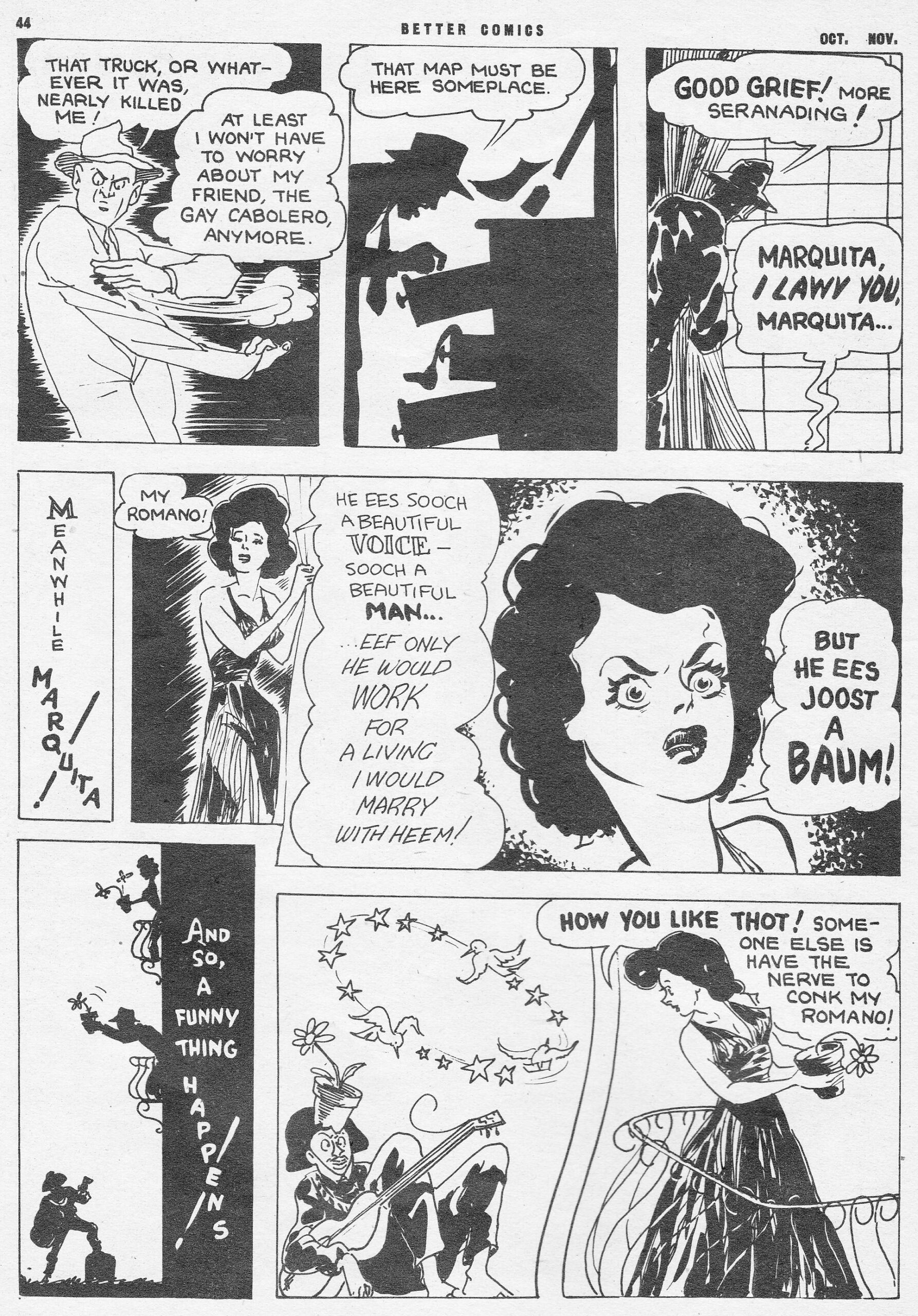 C:\Users\Robert\Documents\CARTOONING ILLUSTRATION ANIMATION\IMAGE CARTOON\IMAGE CARTOON S\SENORITA MARQUITA, Better Comics, 3-6, O-N 1944, 44.jpg