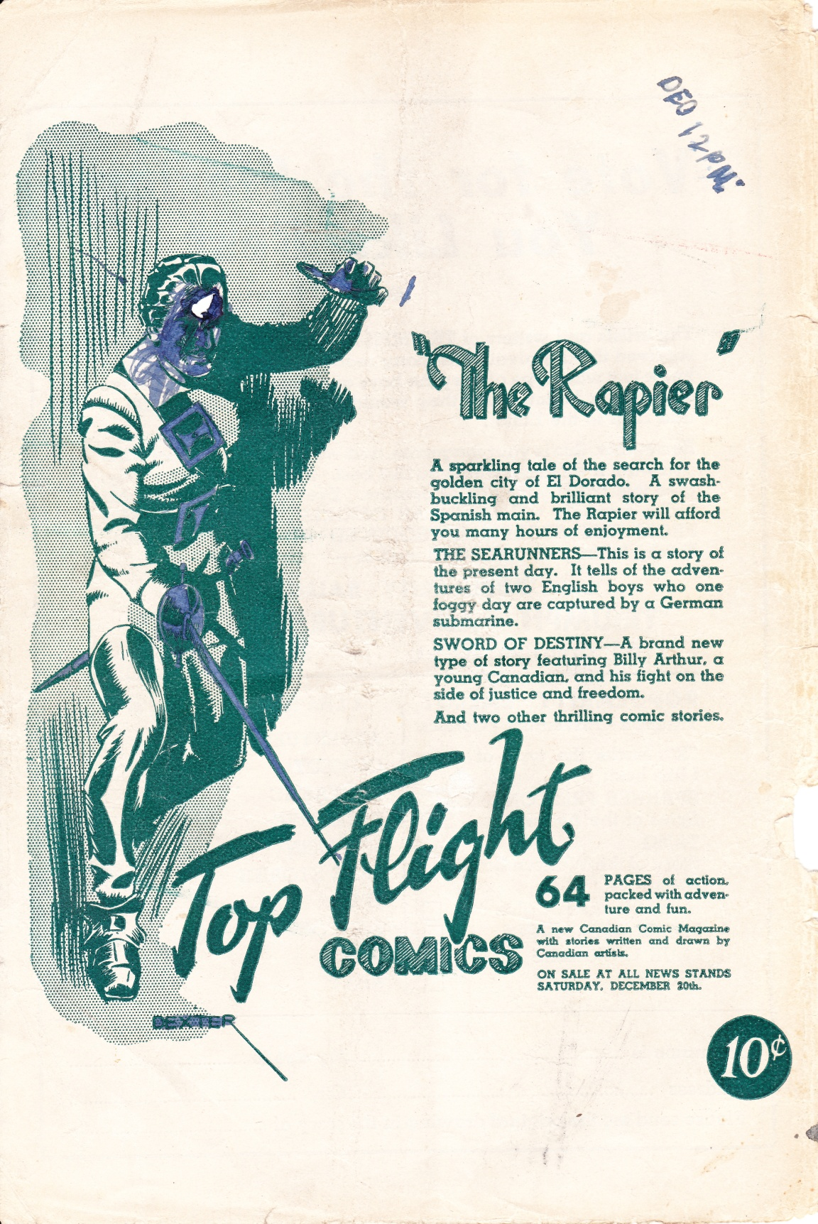C:\Users\Robert\Documents\CARTOONING ILLUSTRATION ANIMATION\IMAGE CARTOON\IMAGE CARTOON R\RAPIER Top Flight Comics advertisement.jpg