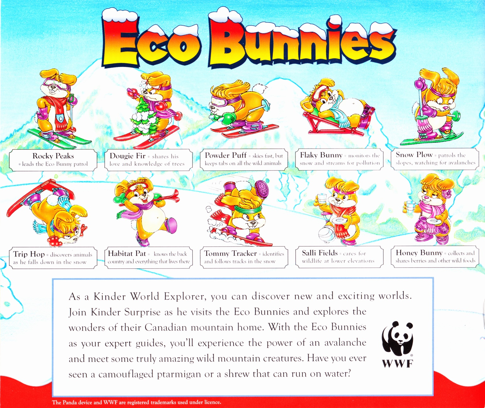 C:\Users\Robert\Documents\CARTOONING ILLUSTRATION ANIMATION\IMAGE BY CARTOONIST\T\THURMAN Mark, Kinder Surprise and the Eco Bunnies,1998, bc.jpg